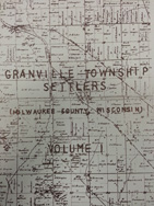 Granville Township Settlers
